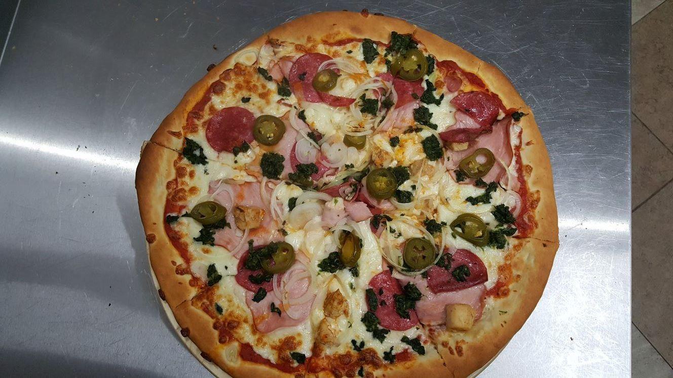 Pizza Adama - Zielona Oliwka Czastary