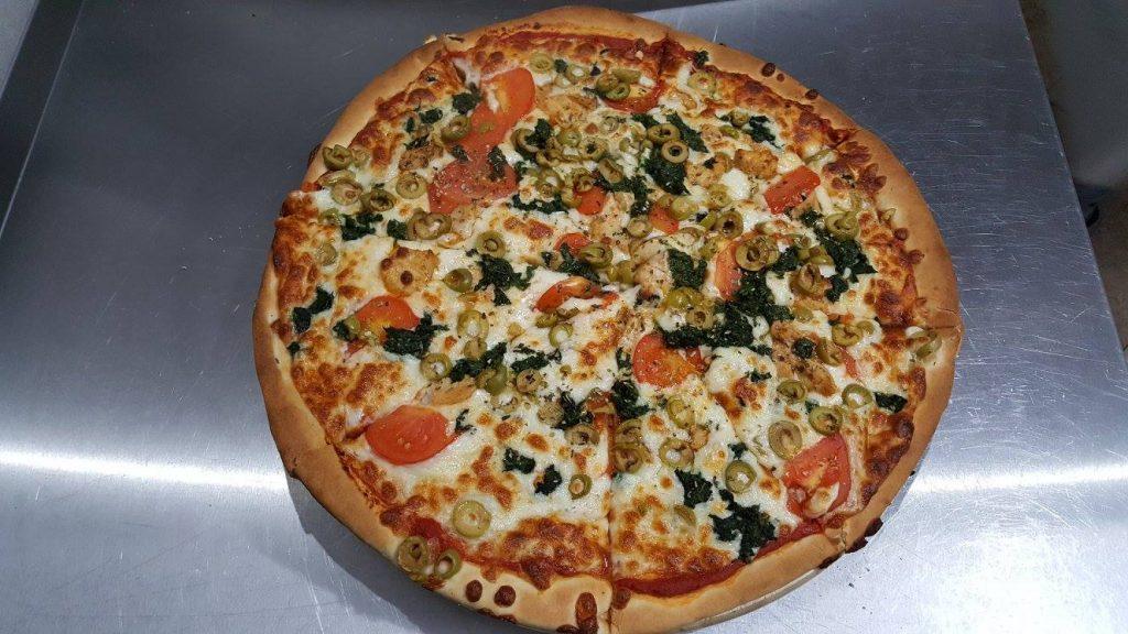 Pizza Zielona Oliwka - Zielona Oliwka Czastary